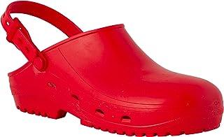 REPOSA MAX Zuecos Sanitarios, Zapatos Sanitarios Tipo Zueco, polímero Natural antiestático, sin látex, capellada Superior ...