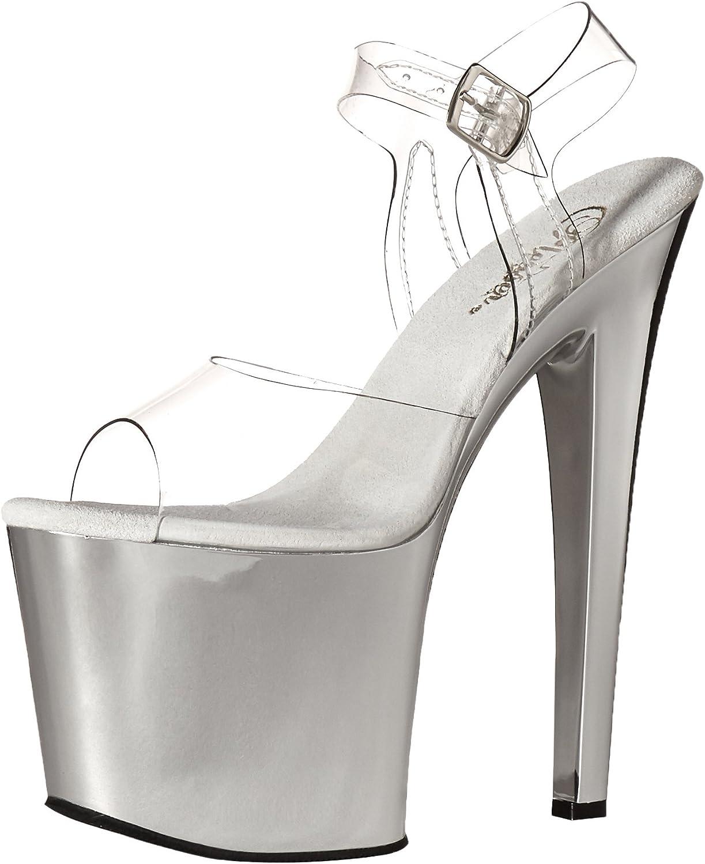 Pleaser Womens Tab708 C Sch Platform Dress Sandal