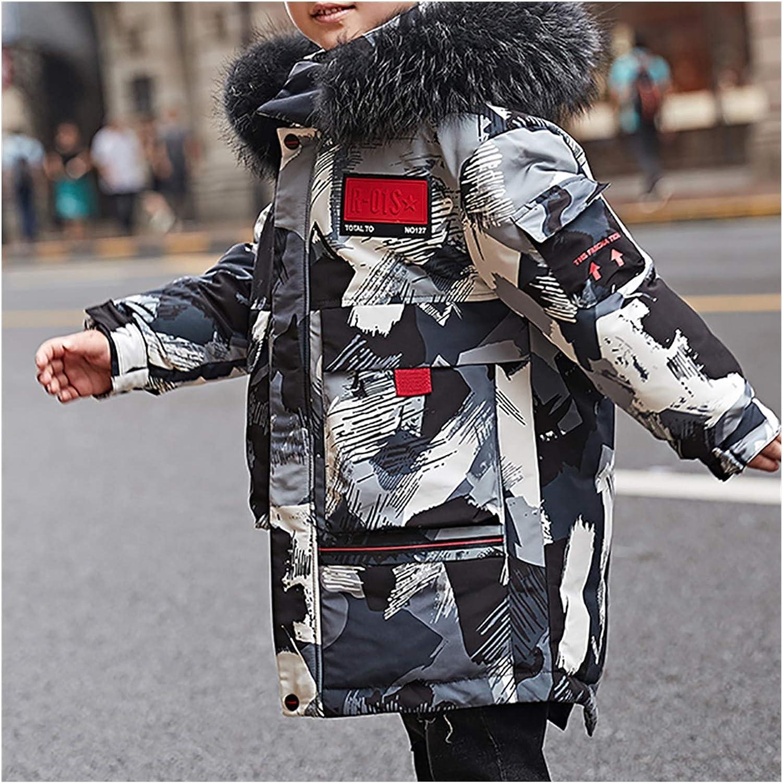 Cheap SALE Start cheap ZRJ Boys Winter Camo Puffer Hoode Jacket Kids Down Parkas