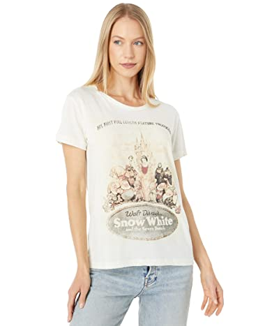 Chaser Snow White Recycled Vintage Jersey Tee