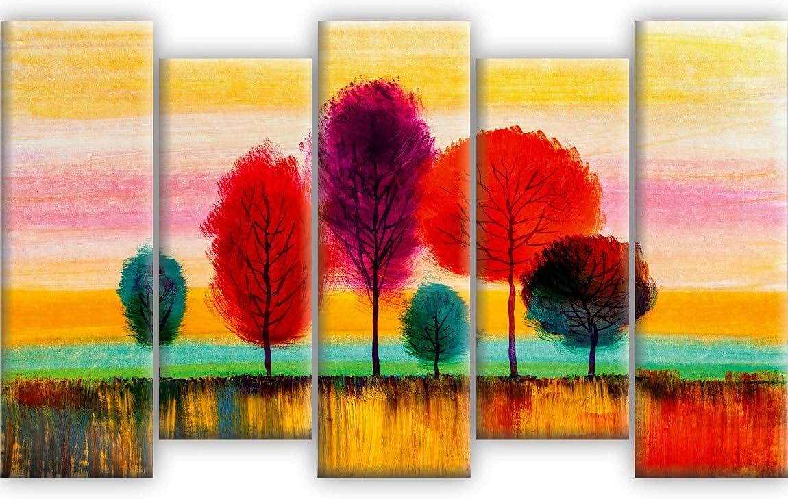 SAF Set of 5 Beautiful Scenery Home Textured 全商品オープニング価格 Decorativ UV Nature 売れ筋