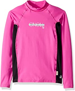 O'Neill Girls Premium Skins Upf 50+ Long Sleeve Rash Guard