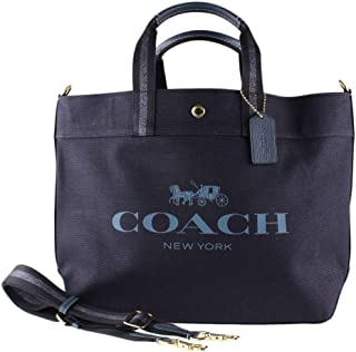 Canvas and Leather X-Large Tote Bag