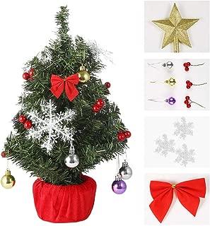 light up tabletop christmas tree