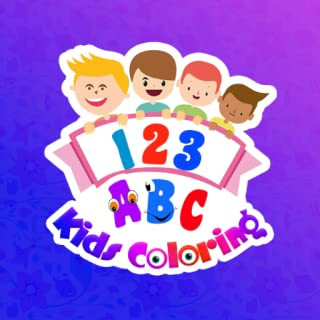 ABC Coloring Book - Kids Alphabet & Number Drawing