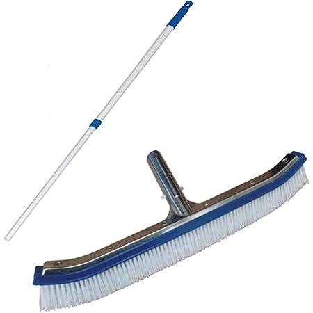 Telescopic Rod Skimmer Pool Tools Lifesaving Equipment Cleaner Aluminum Cleaning Accessories,9.98ft FengJ Telescopic Swimming Pool Cleaning Pole