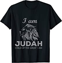 Hebrew Israelite Clothing I Am Judah Lion Child T-Shirt