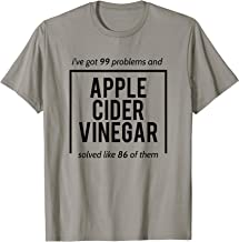 Apple Cider Vinegar T-Shirt - Miracle Cure Tshirt - Witty T T-Shirt