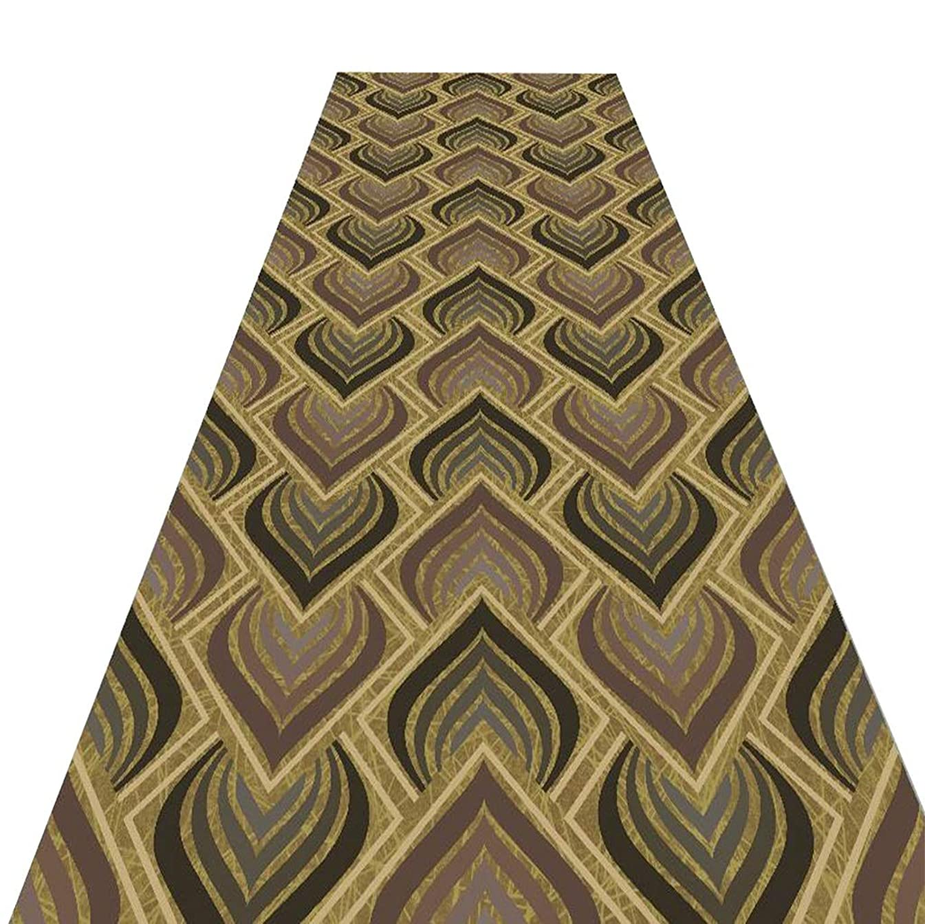 Mbd 3D Printed Carpet Rectangular Bedroom Bedside Table Porch Door Mat, Commercial Corridor Carpet (Color : A, Size : 1.26m)