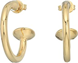 Vanessa Mooney The Cecilia Small Hoop Earrings