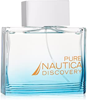 Pure Discovery Eau De Toilette Spray Men by Nautica, 3.4 Ounce