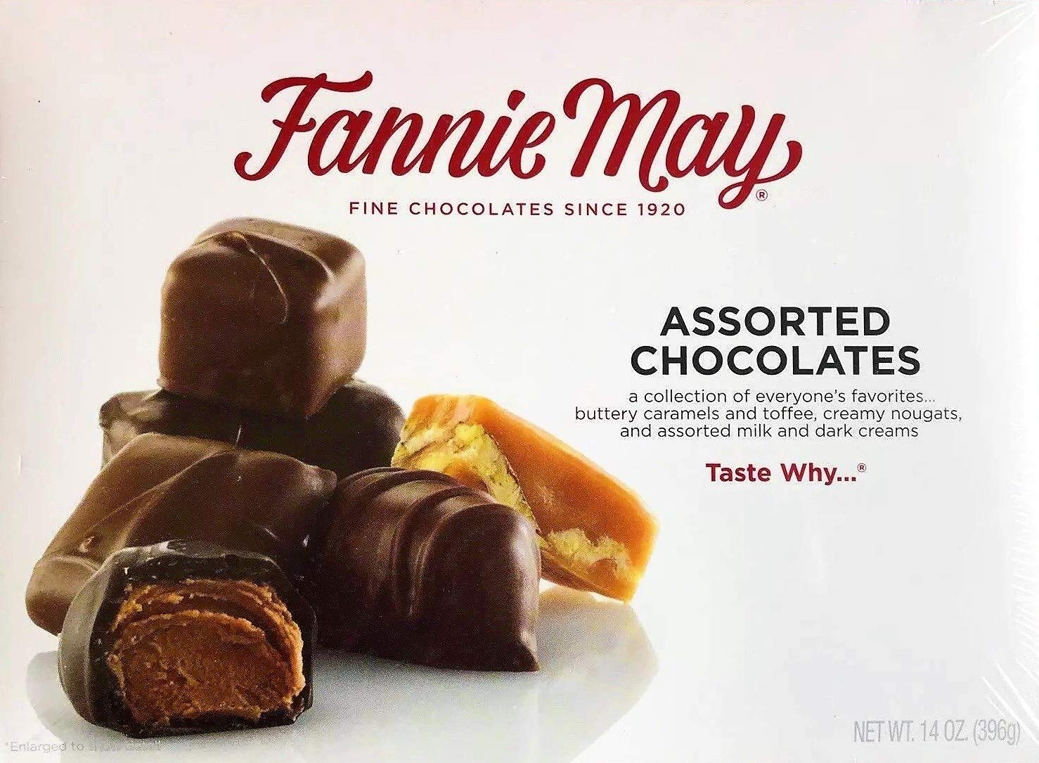 Fannie May Assorted Cash special price 14 oz Max 75% OFF Chocolates