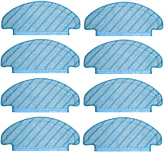 Fulision Accessories Mopping Cloth for Ecovacs Ozmo T8 Vacuum Cleaner Replacement Parts 8 PCS Mop Cloths Pads