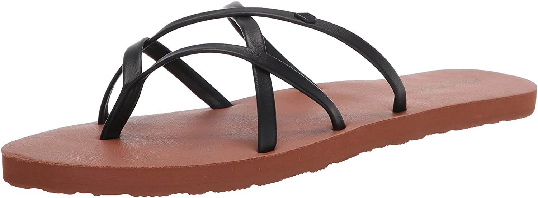 Volcom Women's New School Flop Sandal Flip Our shop Max 84% OFF OFFers the best service