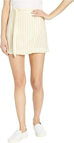 Marigold Yellow/White Stripe