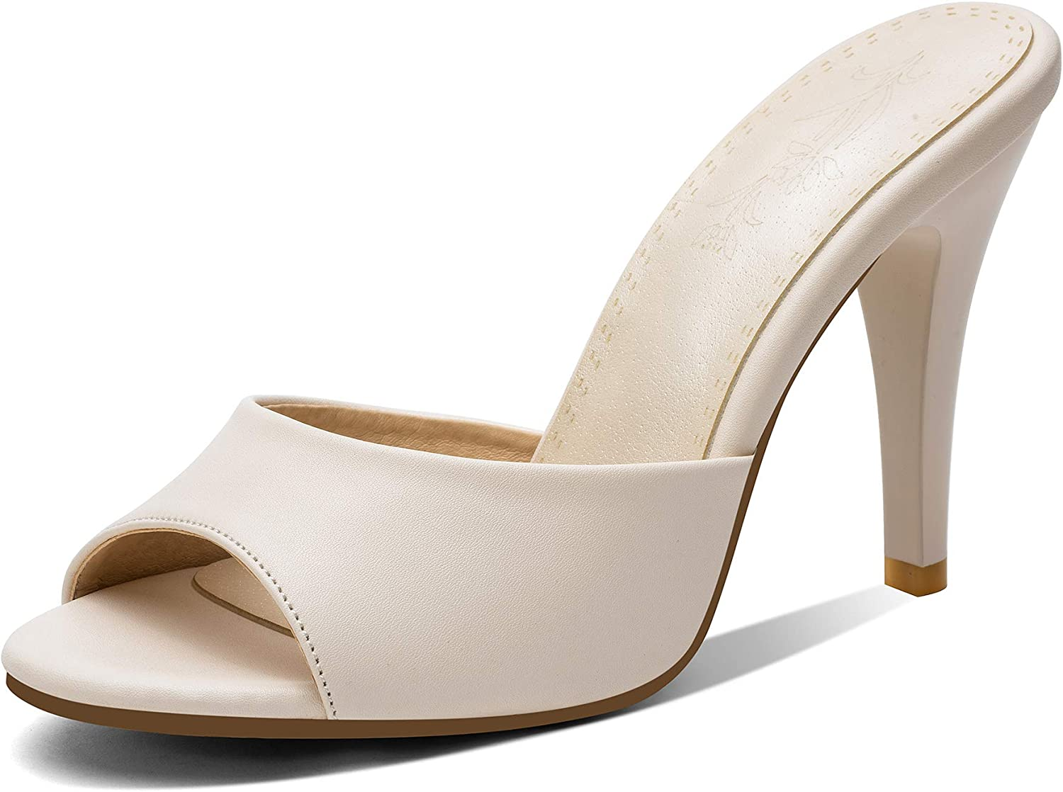 ZUQIN Summer Women Peep Toe High Stiletto Sandals 67% Ranking TOP14 OFF of fixed price Heel Slippers