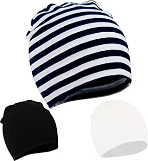 Unisex Baby Knitted Beanies Boy/Girl Cute Cotton Stretchy Toddler Infant Kids Hats Sleeping Solid Caps