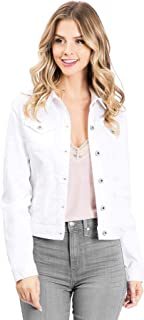 Sneak Peek Jeans Women's Classic Denim Jacket
