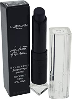 Guerlain La Petite Robe Noire Deliciously Shiny Lip Colour for Women, #007 Black Perfecto, 2.8g