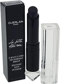 Guerlain La Petite Robe Noire Deliciously Shiny Lip Colour 007 Black Perfecto for Women, 0.09 Fl Ounce