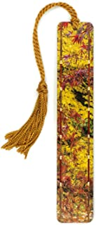 Wooden Bookmark with Color Photograph by Mike DeCesare - Autumn Leaves