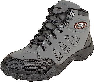 Earton Men's Grey-400 Sports Shoes (Running Shoes)