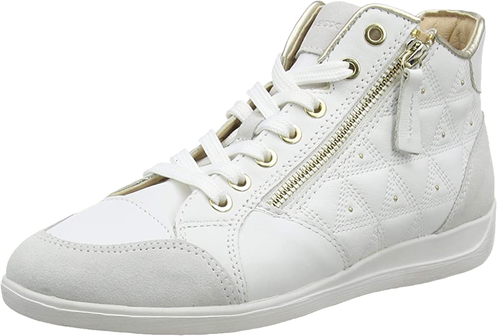 Geox d myria b, mocassini donna sneakers in pelle D0268B08522