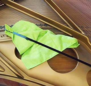 Grand Piano Soundboard Cleaning Tool With Microfiber Dusting Cloth