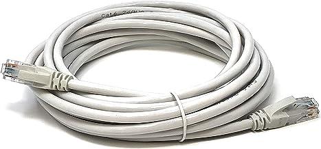 Mr. Tronic 5m Cable de Red Ethernet Latiguillo | CAT5e, AWG24, CCA, UTP, RJ45 | Color Gris (5 Metros)