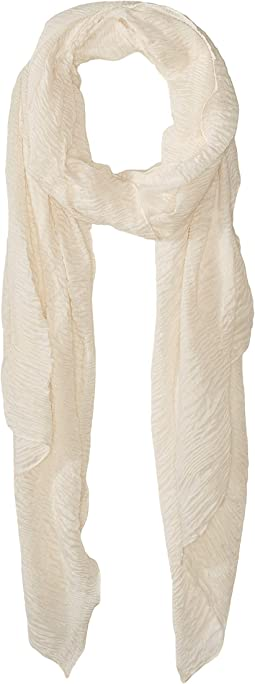 Pleated Ruffle Scarf