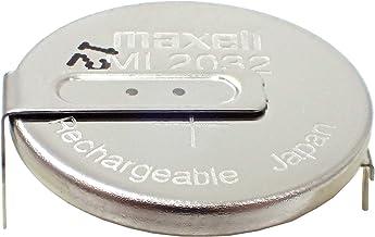 maxell コイン形二酸化マンガンリチウム二次電池 3V 65mA スルーホールタイプ ML2032 T6