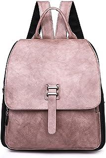 Color : B DEI QI Backpack Outdoor Travel Lady Retro Canvas Rucksack Leisure Travel Bag Bundle Bag Backpacks Student Pattern