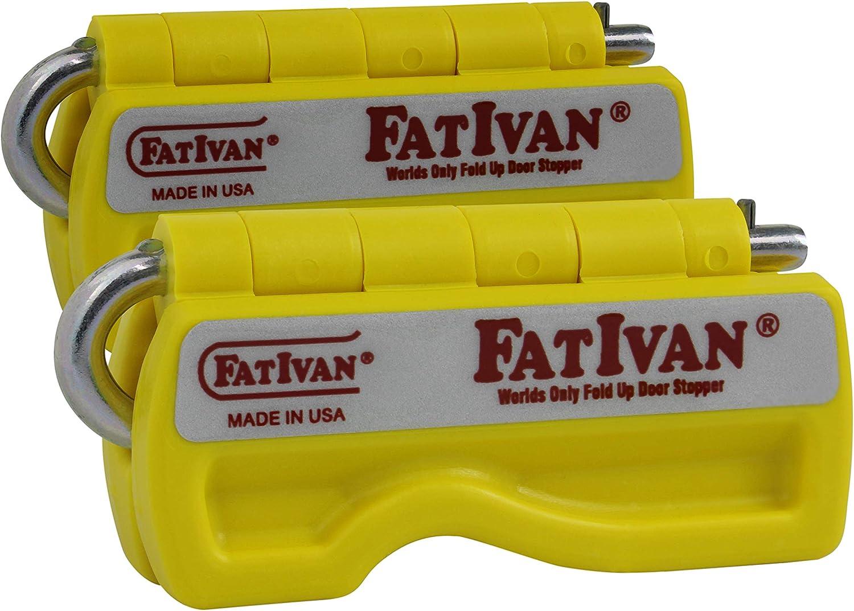 The Original Fat Ivan Fold Up Magnet with lowest price Doorstop - overseas Yello Wedge