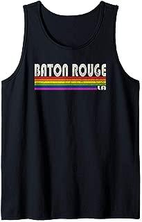 Vintage 80's Style Baton Rouge LA Gay Pride Month Tank Top