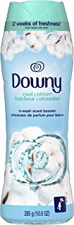 Downy in-wash Scent Booster Beads, Cool Cotton, 10 Ounce, 4 Count