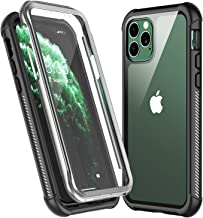 KUMEDA Designed for iPhone 11 Pro Max Case, Heavy Duty Protection with Built-in Screen Protector Rugged Armor Cover Clear Shockproof Case for iPhone 11 Pro Max 6.5 Inch
