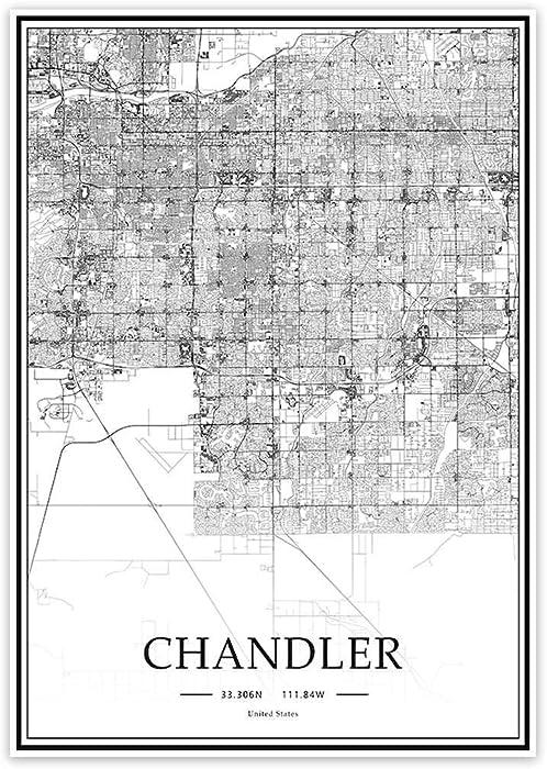 The Best Arizona Map Decor