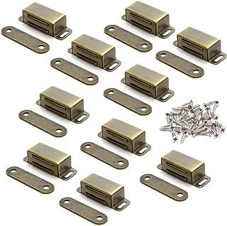 10 st. magnetlås magnetlås dörrmagnet möbelmagnet dörrlås dörrlås dörrlås lås balkonturspänne hållkraft 8 kg