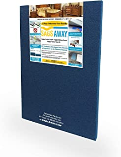 SagsAway Ultimate Sagging Innerspring or Latex Mattress Repair System. Directly Target A Sag In Any Twin, Full, Queen, or King Size Up To 14 Inches Thick. Not for Memory Foam, Tempurpedic, or Air Beds