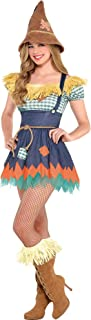 Suit Yourself Scarecrow Halloween Costume for Women, Wizard of Oz, Includes Accessories