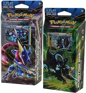 Pokemon XY XY9 Breakpoint Decks Greninja & Luxray Theme Cards, Pack of 120