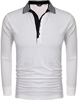 white polo long sleeve outfit male
