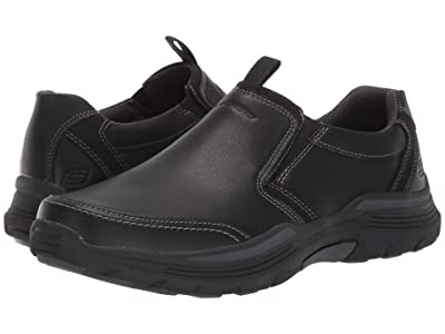 SKECHERS Relaxed Fit Expended Morgo (Black) Men