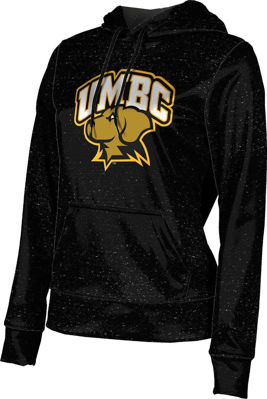 ProSphere University of Maryland Baltimore County Girls' Pullover Hoodie, School Spirit Sweatshirt (Heather)