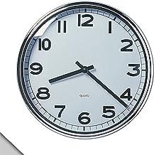 ساعة حائط من IKEA - PUGG مطلية بالكروم