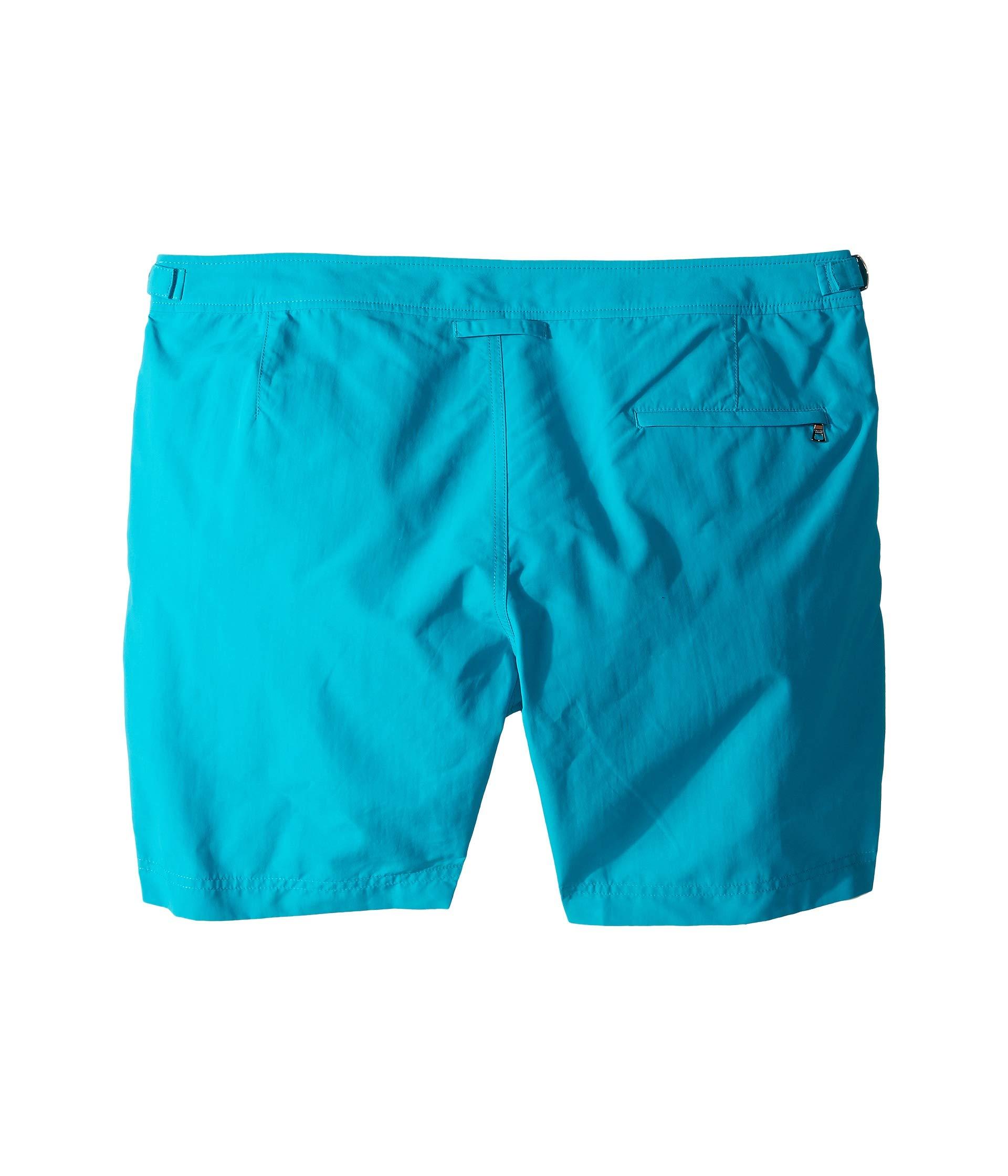Bulldog Brown Blue Swim Trunk Orlebar Scuba Faqffv