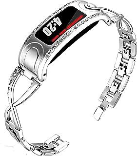KingBaas Band Compatible for Garmin Vivofit 2 Wrist Bands Bracelet Accessory Adjustable Metal Clasp Women Replacement Bands for Garmin Vivofit