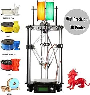 Geeetech Delta Rostock Mini G2s 3D Printer,Double Extruder,Support 4 Materials,Auto Level