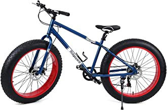 "Ridgeyard 26"" 7 Velocidad fat bike bicicleta de montañ"