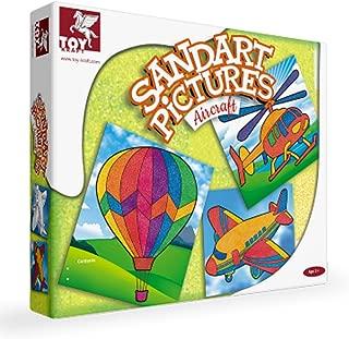 Toykraft Sand Art Kits (SANDART Pictures AIRCRAFTS)